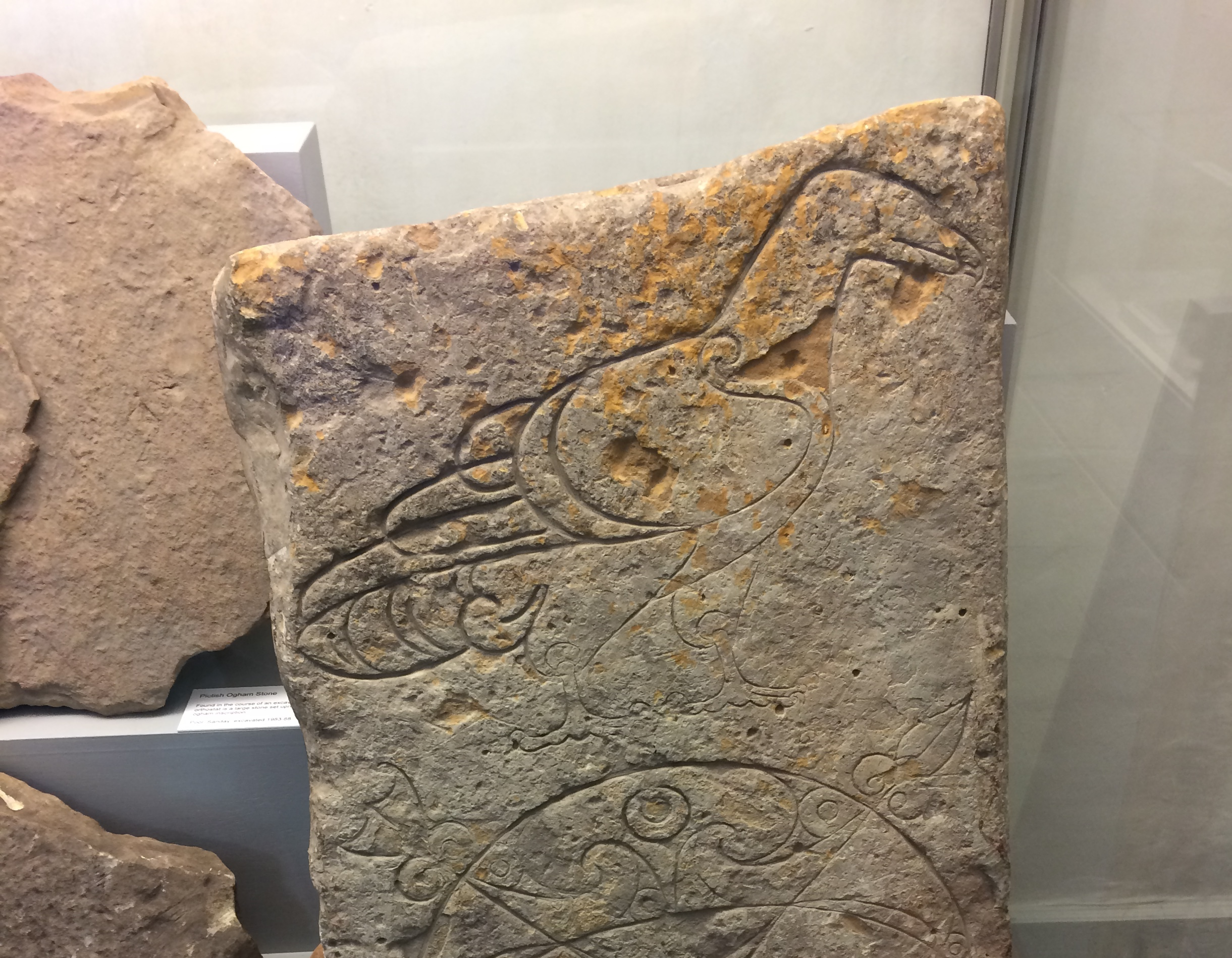 Pictish eagle stone