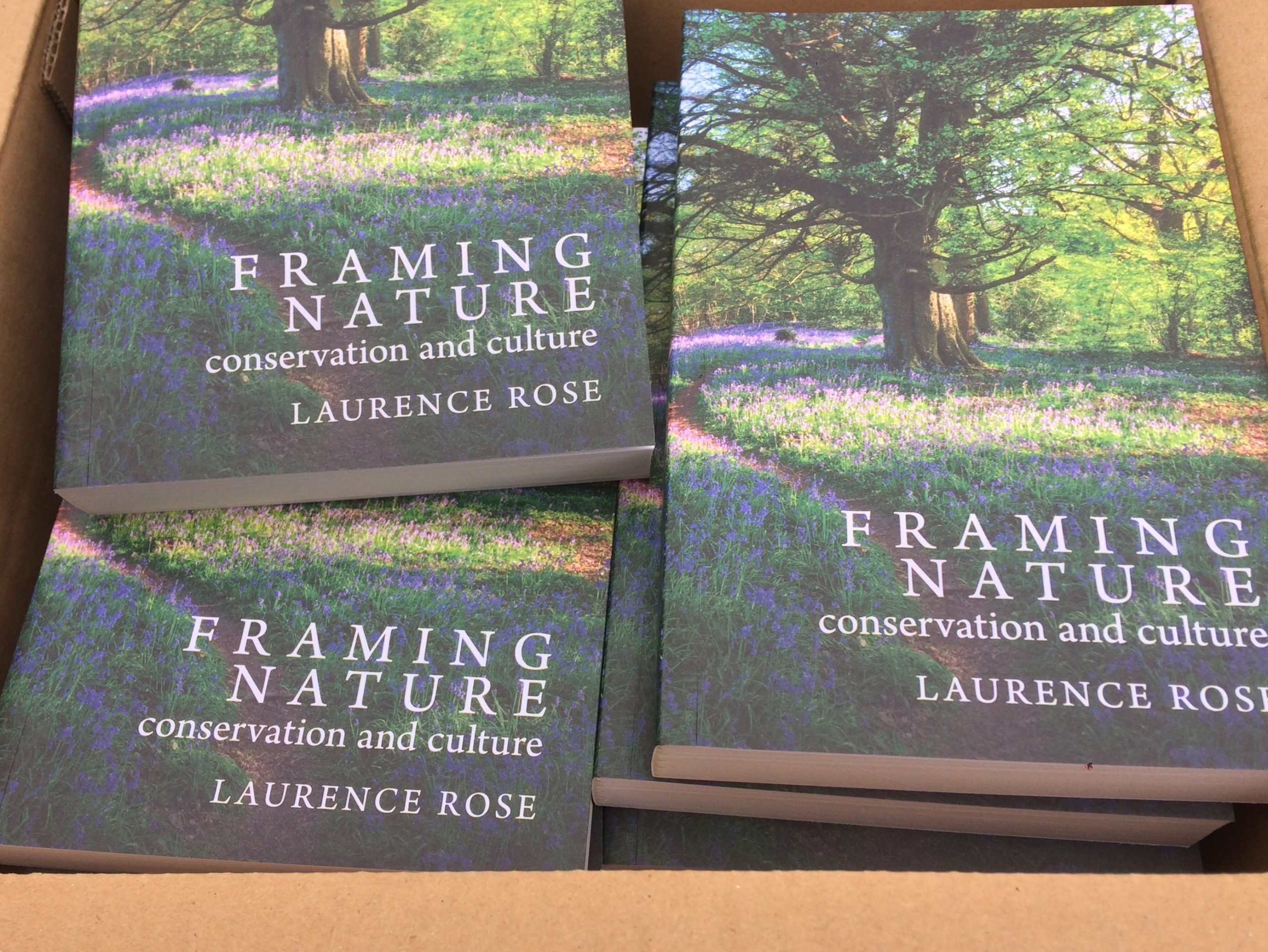 Copies of Framing Nature by Laurence Rose